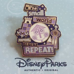 Disney Parks It's A Small World Pin